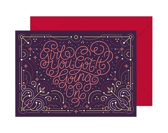 """Girl You Got It Going On Card 