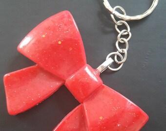 "Keychain ""Red Ribbon"""