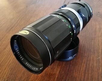 Vintage Soligor 80-200 mm f3,5 Zoom Lens for Minolta SLR Cameras