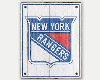 New york rangers | Etsy