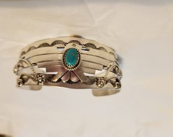 Thunderbird Bracelet with Turquoise