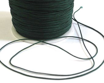 10 m thread dark green nylon 1 mm