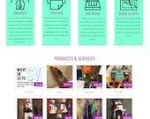 Custom ETSY Store Shopping Website