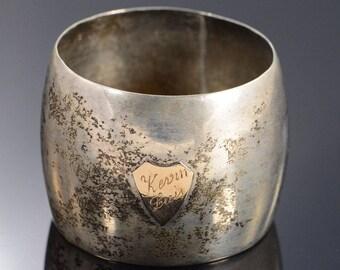 900k Wado Simple Napkin Ring Silver
