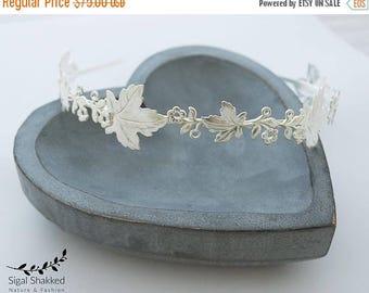 Bridal Headpiece, Wedding Headpiece, Bridal Headband, Woodland Headband, Leaf Headband, Leaf Crown, Woodland Wedding, Grecian Crowne