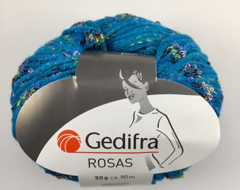 Gedifra (Rosas) - Blues with Balls of Pink, Green and Black