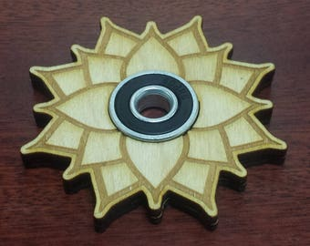 Large Lotus Fidget Spinner