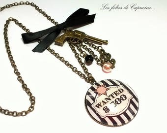 Great necklace • Calamity Jane• Cabochon necklace