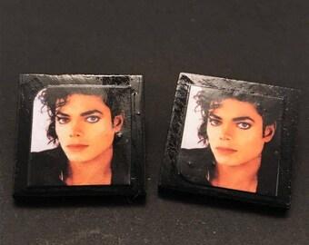Michael Jackson Post Earrings