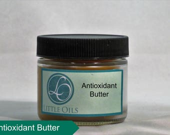 Pure and Natural Antioxidant Butter - Shea Butter Cocoa Butter Kombo Butter and Avocado Oil - Natural UV Protection - Skin Moisturizer