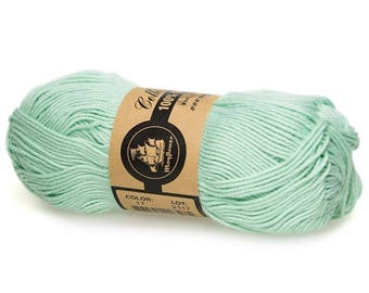 17 Mint Green Mayflower Organic Cotton 8/4 50g