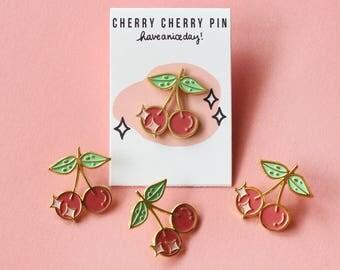 Cherry Cherry Pin