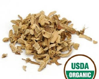 Galangal Root C/S, Organic 1 lb. (Pound) 16 oz.