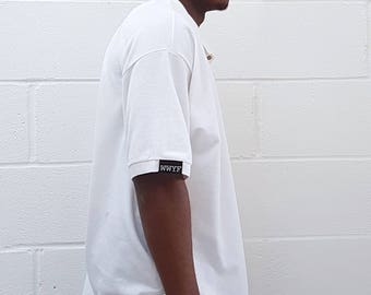 Relaxed Fit Polo Shirt White