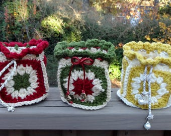 Small and Mini Gift Bags Crochet Pattern