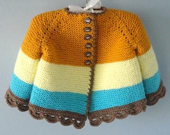 Crochet Baby Jacket Crochet Baby Cardigan Knitted Baby Jacket Baby Sweater Knitted Baby Gift Crochet Baby Outfit Knitted Baby Clothes