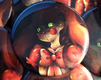 """Five Nights At Freddy's Sister Location 2.25"""" Button"""