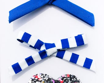 Galactic Summer Hair Clip Set-Headband Set