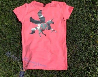 unicorn t shirt, pegasus shirt