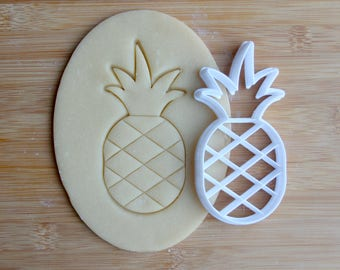 Pineapple 3D Printed Cookie Cutter | Summer / Tropical