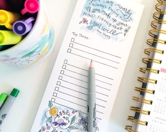 To Do List Notepad - Anne of Green Gables - Notepad - blue