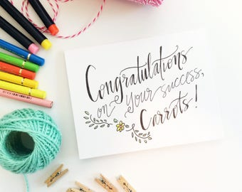 Graduation Card - Anne of Green Gables - congratulations card - illustrated