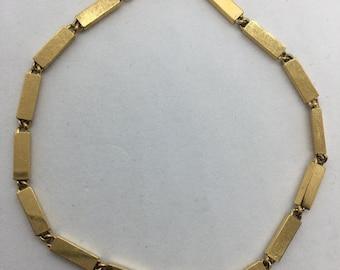 Additional 10 Dollar Coupon Inside Gold tone link bracelet