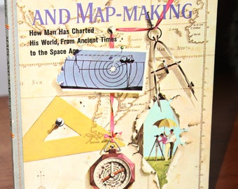 1960 The Story Of Maps and Map Making -- Golden Library of Knowledge / Golden Press -- Children, Learning, Reading, Encyclopedia