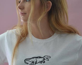 dinosaur Embroidered t-shirt