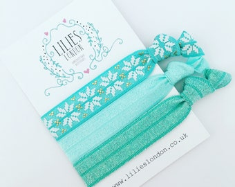 Turquoise hairbands