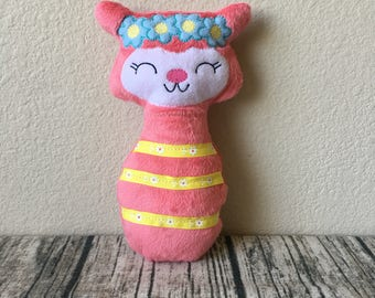 Stuffed Llama, Stuffie, Plushie, Llama, Stuffed Animal, Baby Shower Gift, Toy, Plush Toy, Baby Girl, Stuffed Toy, New Baby Gift