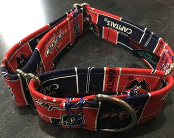 Capitals Fabric Wrapped Martingale
