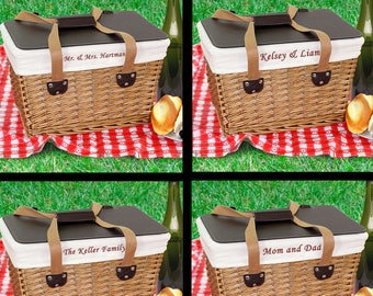 Wedding Gifts, Wedding Gift Ideas, Wedding Anniversary Gifts, Personalized Wedding Gifts, Gift For Wedding, Personalized Picnic Basket