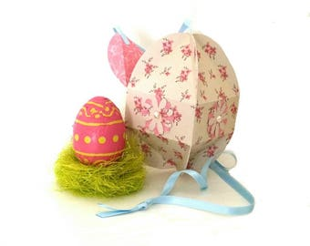 Box of Easter egg shape, creating my little stationery gift box