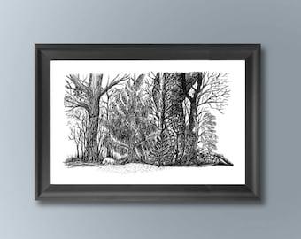 Trees&Dino #2