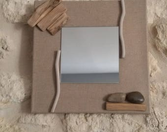 Mirror and Driftwood