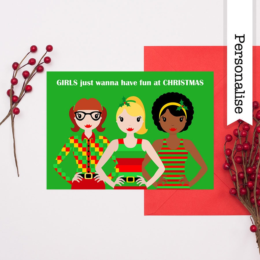 Best Friend Christmas Cards #EG67 – Advancedmassagebysara
