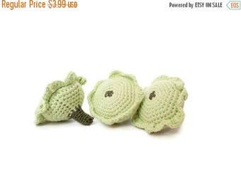 ON SALE 10% OFF Crochet Squash (2pcs) Crochet Play food Kitchen table decoration Crochet stuffed toy Amigurumi Stuffed vegetables