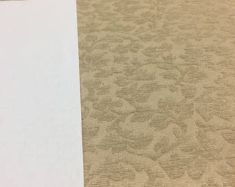 """Toronto Antique Gold Floral Chenille upholstery Fabric  57"""" by the yard Multipurpose"""
