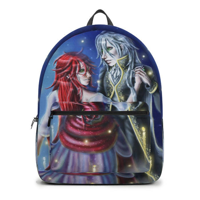 Black Butler Grell Sutcliff Undertaker Backpack Music Of The Night