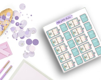 Planner stickers - S032