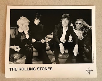 1997 The Rolling Stones 8x10 Limited Edition Promo Photo Free Shipping