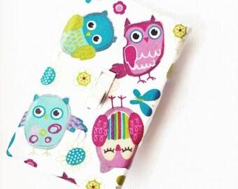 Owl Nursery Décor / Owl Nursery Wall Art / Owl Nursery / Owl Décor / Owl Bedding / Light Switch Cover / Suíteplāt / Girls Nursery