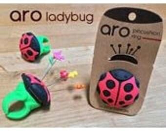 Aro - Ladybug Ring Pincushion by Smart Needle