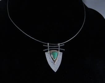 Silver Shield and Turquoise