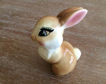 Vintage Walt Disney Productions Thumper Girlfriend Blossom Figurine