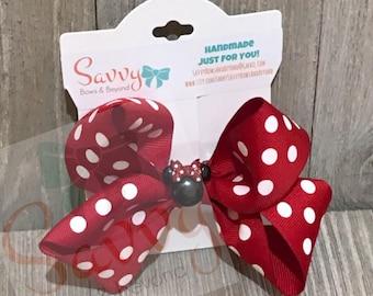 Minnie & Mickey Hair-Bows