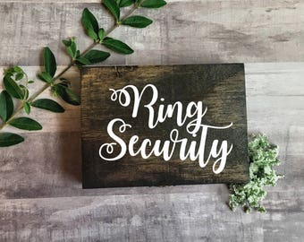 Ring Bearer Box - Wedding Ring Box - Mr. And Mrs. Ring Bearer Box - Double Ring Box- Rustic Wedding Decor