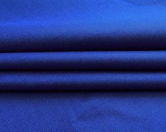"""Royal Blue Fabric, Sewing Decor, Dressmaking Fabric, Quilting Decor Fabric, 42"""" Inch Rayon Fabric By The Yard PZBR7A"""