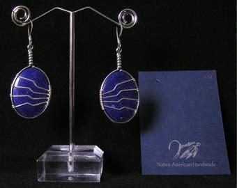 Lapis Lazuli Earrings |  | Native American